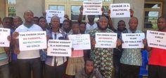 Fra Ghana: Ebola er ikke reel, og de eneste mennesker, der har fået syge er dem, der fik skud fra det røde kryds