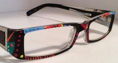 205d4c8c9c2 Hand Painted Reading Glasses.