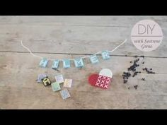 DIY: Name plate in beads by Søstrene Grene - YouTube
