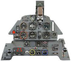 1:4 Bf 109E Instrument Panel Model