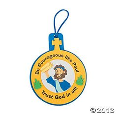 Paul Was Courageous Ornament Craft Kit
