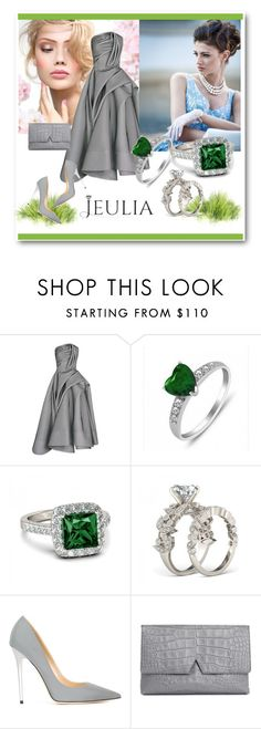 """""""Jeulia 11"""" by aida-1999 ❤ liked on Polyvore featuring Jimmy Choo, Vince, women's clothing, women's fashion, women, female, woman, misses, juniors and jewelry"""