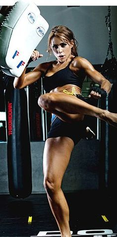 Bodybuilding.com - Cardio Kickboxing With Chady Dunmore. The benefits! And why I love this class for my high intensity workouts. #cardio #kickboxing