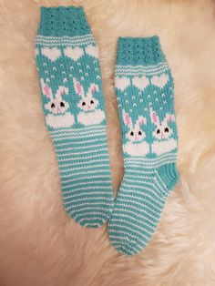 Knitted Mittens Pattern, Knit Mittens, Baby Knitting Patterns, Knitting Socks, Baby Barn, Crochet For Kids, Perler Beads, Bunny, Inspiration