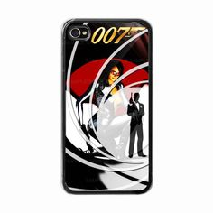 iPhone 4 /4s hard case  Skyfall / james bond 007  Phone by BeeCase, $14.50