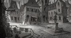 Streets of Transylvania.