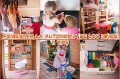 11 formas de fomentar la autonomía de los niños inspiradas en el método Montessori