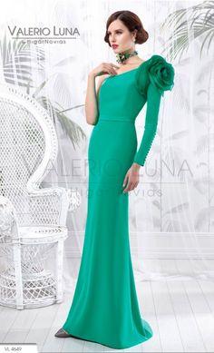 Vestido VALERIO LUNA Organza Seda