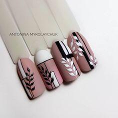 the most amazing nail design 16 Nail Art Designs Videos, Nail Designs, Matte Nails, Acrylic Nails, Nail Manicure, Gel Nails, Nail Drawing, Geometric Nail Art, Flower Nails