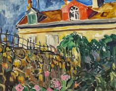 View La Maison By Louis Valtat; Oil on canvas; x 92 cm; Access more artwork lots and estimated & realized auction prices on MutualArt. Environment Painting, St Raphael, Modern Artists, Henri Matisse, Monet, Printmaking, Oil On Canvas, Artwork, Illustration