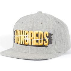 The Hundreds Hail Mary Snapback Hat (Athletic Heather) $27.95