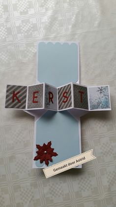 crea-scrap-card: Kerst pop up kaart