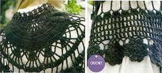 Crochet Shawls: Crochet Shawl Cape Pattern - Wonderful