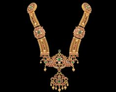 Nathella | Collections | Antique | Antique Haram Peacock Necklace