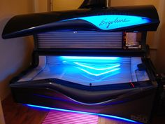 Tanning bed!