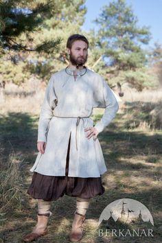 Льняная нательная рубаха викинга