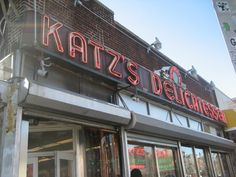 "Katz's - Lower East Side NYC...I can still hear the waitress saying, ""talk to me""..."