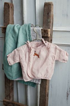 Handmade Embroidered Linen Baby Wrap Top | Lapetitealice on Etsy