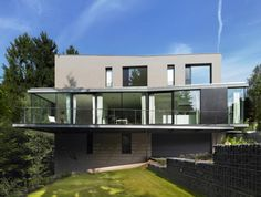 Architects: Steinmetz De Meyer Location: Bridel, Grand Duchy of Luxembourg Site Area: 500 sqm House Area: 350 sqm Structural engineering: NEY &