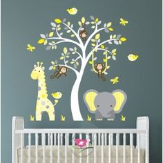 Jungle Theme Nursery - Enchanted Interiors