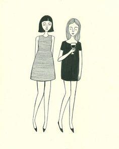 Ink drawing by Jordan Grace Owens #drawing