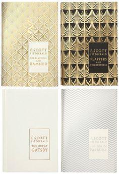 Cover design, art deco