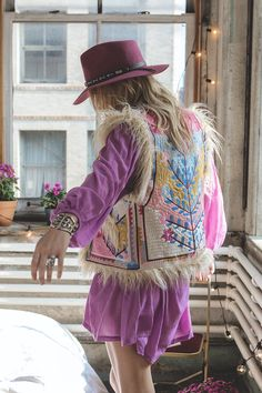 Penny Lane Embroidered Vest • Spell & The Gypsy Collective - International