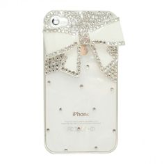Large Bow iPhone 4/4S Case. I WANT IT!!!!
