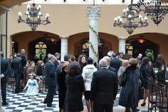 Los invitados comienzan a llegar. #boda