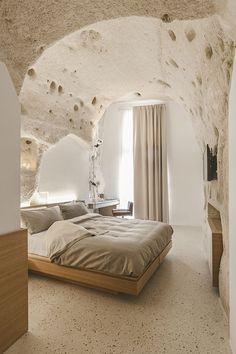Habitación de una cueva. #Italia La Dimora di Metello | Galería de fotos 9 de 33 | AD