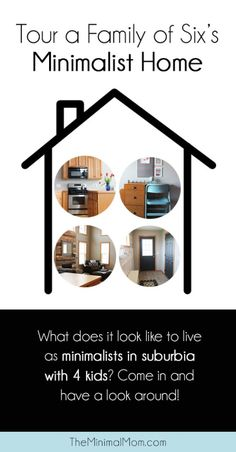 This is REALLY inspiring! You can even look inside their cabinets to see what minimalism really looks like!