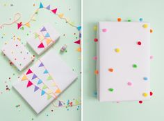 14 Adorable Gift Wrapping Ideas for Kid's Presents via Brit + Co