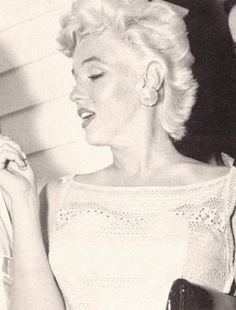 Marilyn Monroe in Bement, Illinois for the Bement Centennial, August 1955.