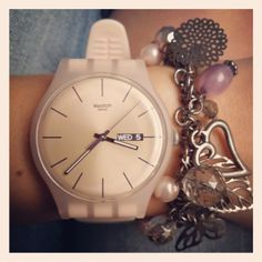 *** IL MIOOOO!!!!! *** (ROSE REBEL http://www.swatch.com/zz_en/watches/fw2013_original.product-SUOT700.html #Swatch)