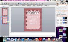 Creating a TeachersPayTeachers Product in PowerPoint, via YouTube.