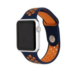 Active Silicone Bands for Apple Watch - Epic Watch Bands Sport Watches, Cool Watches, Watches For Men, Women's Watches, Apple Watch Series 1, Apple Watch Bands, Apple Straps, Fitness Watches For Women, Silver Pocket Watch