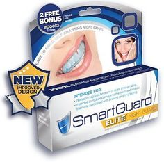 SmartGuard Elite - NEW IMPROVED Night Guard For Teeth Grinding and Bruxism -...