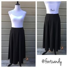 "ASOS Black Maxi Skirt Brand: ASOS Material: 76% Polyester, 18% Viscose, 4% Elastane Size: 8 Color: Black Waist: 28"" Length: 31""  CLOSET RULES: No PayPal, holds, or trades. Reasonable offers through offer button.  BUYER PROTECTION: After purchase items are subject to extra photo/video with date & buyer closet name. ASOS Skirts Midi"