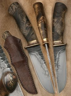 Cool Knives, Knives And Swords, Knife Shapes, Collector Knives, Electric Knife, Forged Knife, Knife Art, Knife Sheath, Knife Handles
