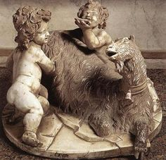 Amalthea, a goat goddess, was Zeus's foster mother
