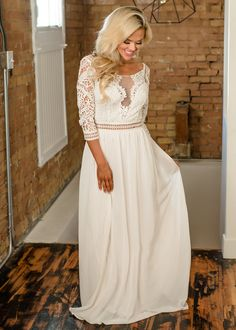 Laced to Perfection Detailed Maxi Dress Ivory , Long Dress, Dress, Shopmvb, Women's Boutique, Online Shopping, Fashion, Style, Modern Vintage Boutique