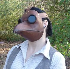 Okay, this is me, but I'm wearing a mask made by my husband, Bryan Stancliff. It's the nicest and cheapest right now, since he's just recently opened his etsy store.