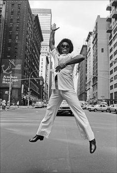 James Brown by Allan Tanenbaum. °