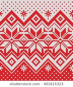 Festive Sweater Design. Seamless Knitted Pattern Fair Isle Pattern, Fair Isle Knitting, Sweater Design, Knit Patterns, Knitting Projects, Textiles, Blanket, Crochet, Sweaters