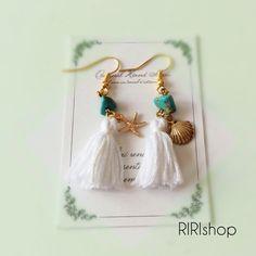 summer tassel earrings