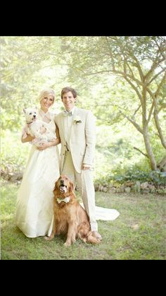 Another must do wedding picture with a dog (bow-tie)