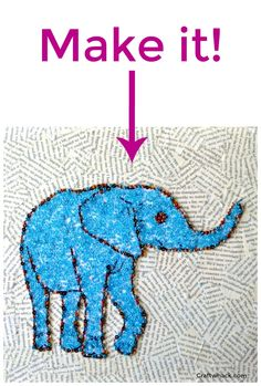 Beaded animal art pr