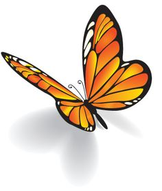 Serenity House Butterfly Logo