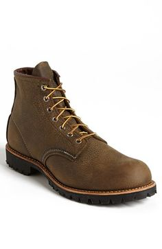 Red Wing Round Toe Boot available at #Nordstrom