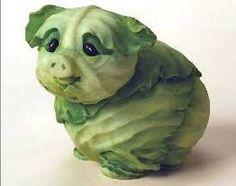 Resultado de imagem para esculturas de animais com frutas
